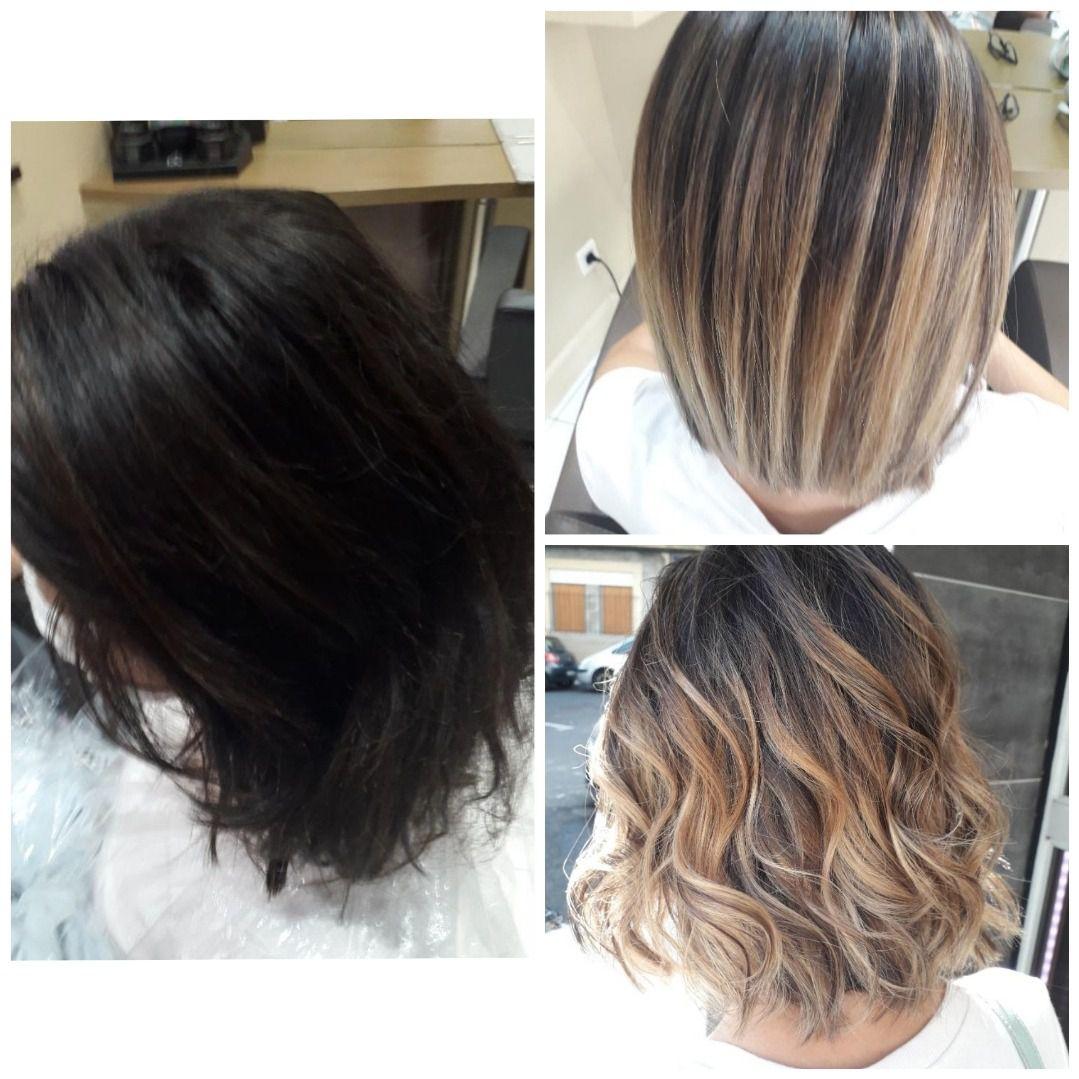 Les Dernieres Tendances Coupe Et Coloration Coiffeur Specialiste Ombre Hair Coloration Beziers 34